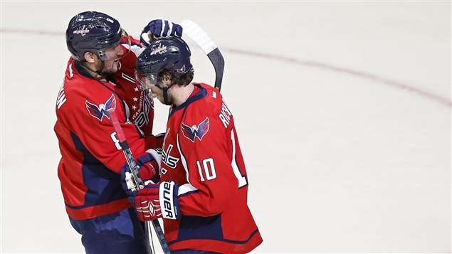 Alexander Ovechkin et Mike Richards