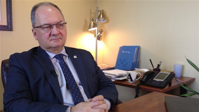 Alain Aubut, président de la Chambre de commerce et d'industrie de Québec