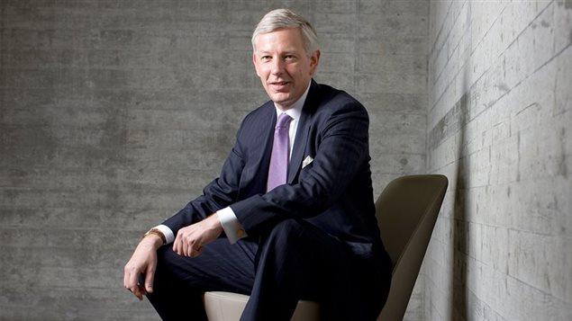 Dominic Barton, directeur général mondial de la firme de consultation McKinsey & Company