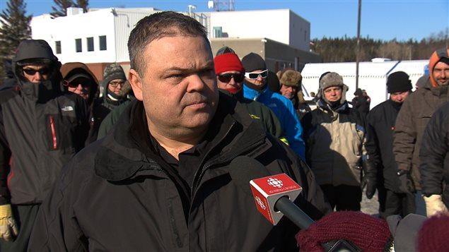 Michel Martin, président régional, Syndicat des employés de métier d'Hydro-Québec