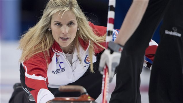 La capitaine d'Équipe Canada, Jennifer Jones