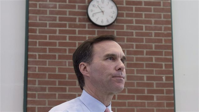Le ministre des Finances Bill Morneau