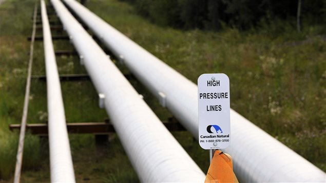 Un pipeline de Canadian Natural Resources