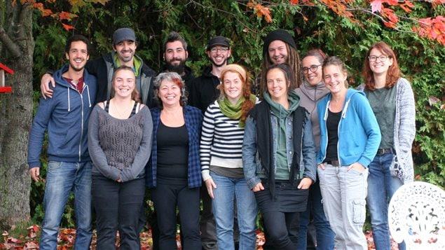 L'équipe de la Coalition sherbrookoise pour le travail de rue