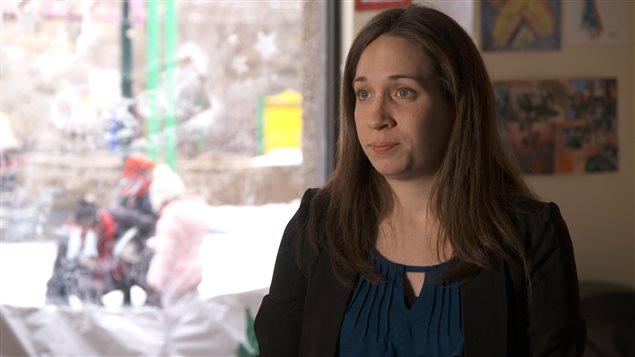 Corrine Voyer, directrice de la Coalition pour la problématique du poids