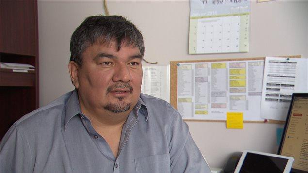 Jean-Roch Ottawa, chef de Manawan.