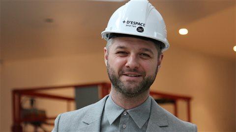 Pierre Lapointe est le porte-parole des festivités d'ouverture.