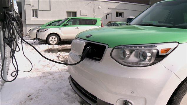 Le service de taxis électriques Téo Taxi