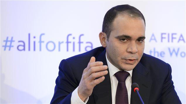 Prince Ali bin Al-Hussein, candidat à la présidence de la FIFA