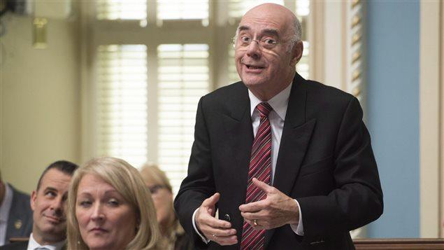 Jacques Daoust, le ministre des Transports du Québec