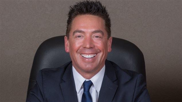 Scott Nelson, conseiller municipal de Williams Lake en Colombie-Britannique.