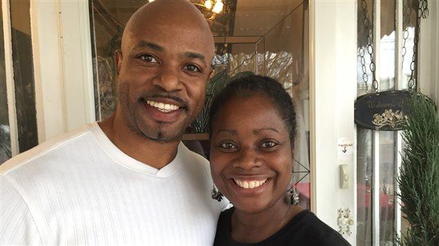 Rachelle Jamerson-Holmes et son mari
