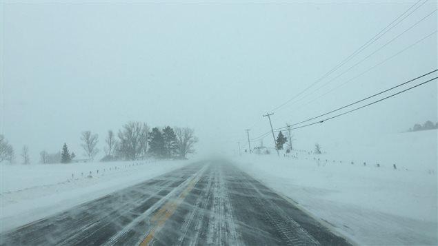 Le Témiscamingue sous la neige