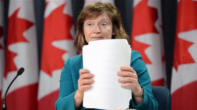 La commissaire à l'information du Canada, Suzanne Legault