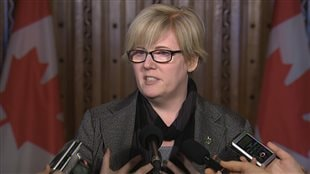 La ministre canadienne des Sports, Carla Qualtrough