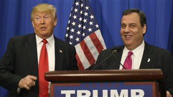 Chris Christie a annoncé son soutien à Donald Trump.