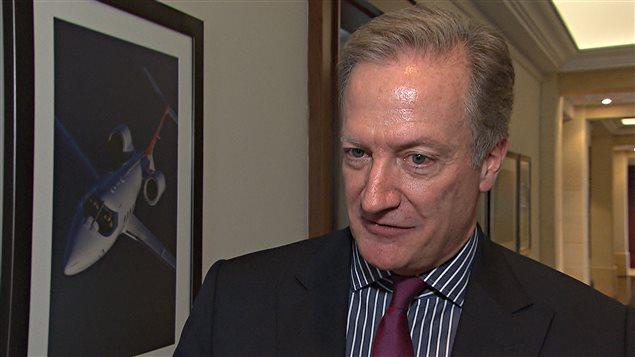 John Paul Macdonald, vice-président principal, ressources humaines et affaires publiques, chez Bombardier