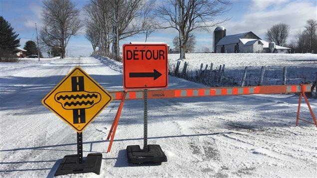 Mesures d'urgence en cours à Drummondville