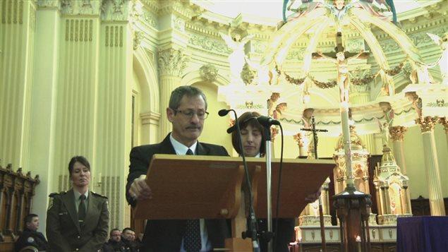 Michel LeRoux et Christine Peeters, le père et la mère de Thierry LeRoux