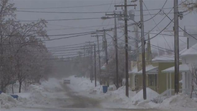 La municipalité de Saint-Fabien étaient paralysée par des pannes électriques, ce matin.