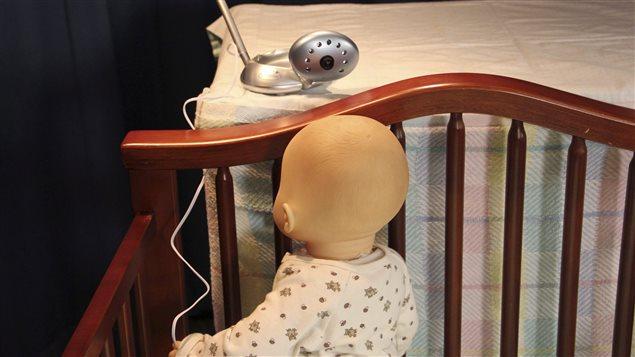 Un interphone pour bébé avec caméra (archives)