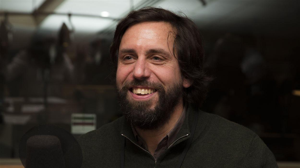 Le professeur Johannes Frasnelli, chercheur en neuroanatomie à l'Université du Québec à Trois-Rivières
