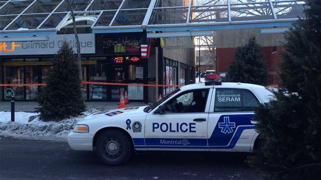 Un adolescent de 16 ans a été poignardé dans un bar de la rue Saint-Hubert.