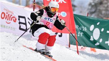 Audrey Robichaud a terminé 2e à Tazawako, au Japon