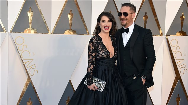 Charlotte Riley et Tom Hardy