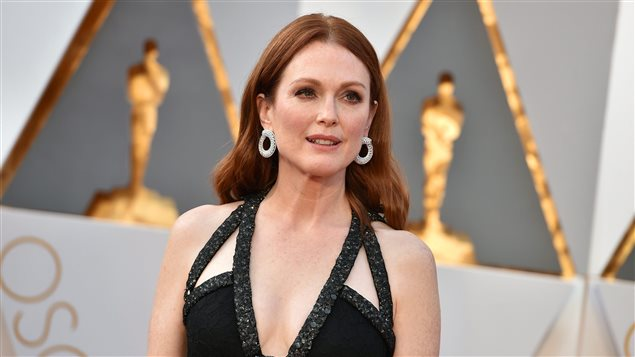 L'actrice Julianne Moore