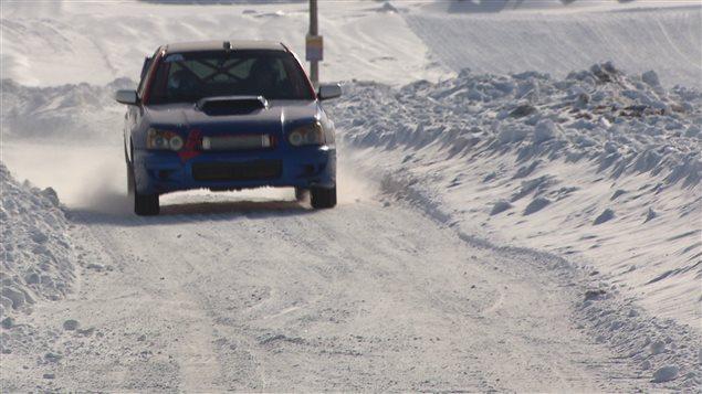La course de RallyeX présentée à Saint-Eugène-de-Ladrière est la première dans la région de Rimouski.