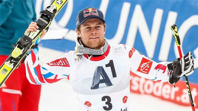 Le Français Alexis Pinturault vainqueur du slalom géant de Hinterstoder, en Autriche
