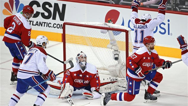 Brendan Gallagher a marqué contre les Capitals, à Washington