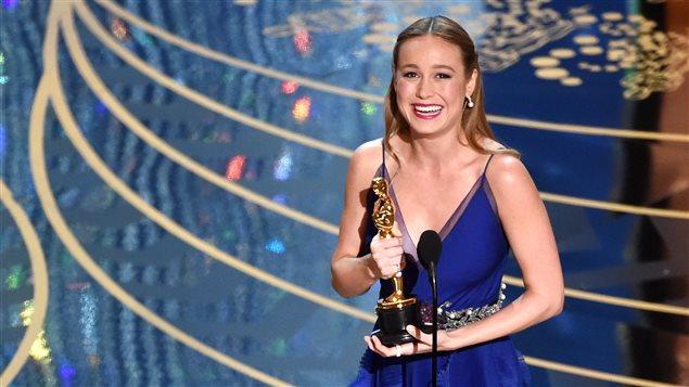 L'actrice Brie Larson