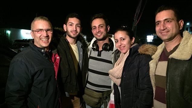 L'arrivée de Ghattas Kaskas à l'aéroport international Pierre-Elliott-Trudeau de Montréal