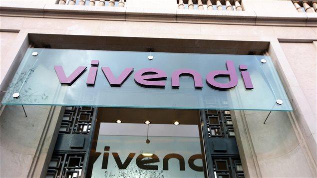 Le siège social de Vivendi à Paris