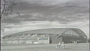 Le projet de complexe sportif de la Ville de Rimouski est toujours en suspend.