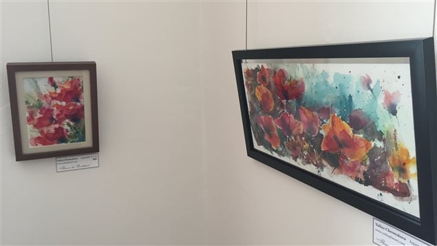Des aquarelles de la peintre Yuliya Chernyshova