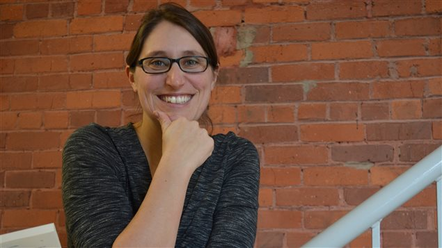 La nouvelle directrice du Salon du livre de l'Estrie, Émilie Pinard