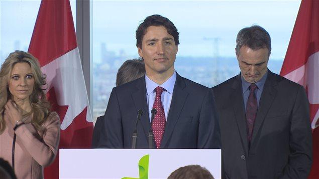 Justin Trudeau à Vancouver le 1er mars.