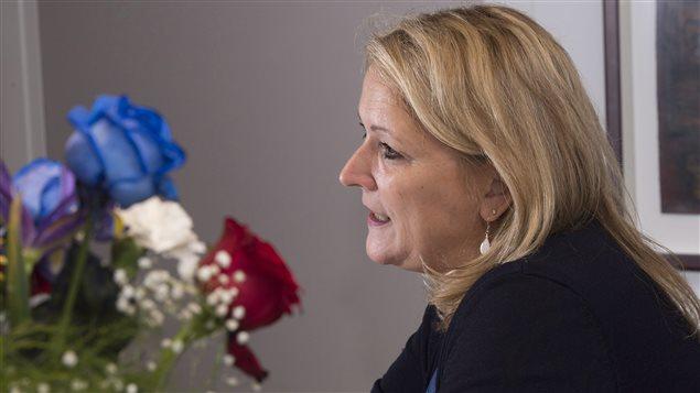 Lise Thériault, ministre de la Condition féminine du Québec