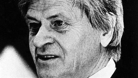 Le père Lacroix en 1985