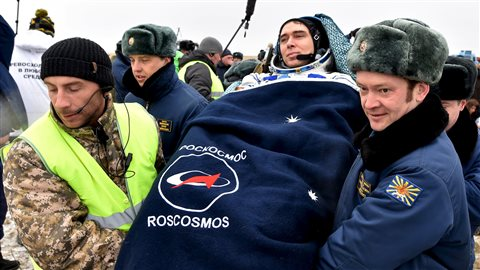 Sergeï Volkoff était dans l'espace depuis six mois.