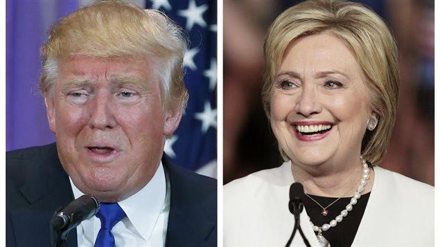 Donald Trump et Hillary Clinton ont ont fait plusieurs gains lors du super mardi.