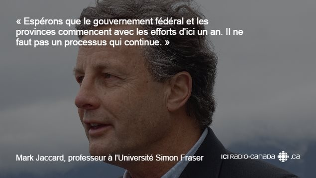 Mark Jaccard, professeur à l'Université Simon Fraser.