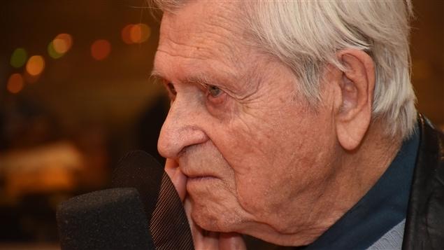 Le père Benoît Lacroix à l'émission « Ça restera pas dans la famille », animé par Stéphane Leclair, était sa dernière grande entrevue à la radio.
