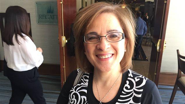 La ministre de l'Immigration de la Nouvelle-Écosse, Lena Diab