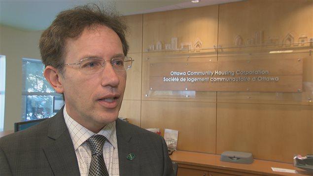 Stéphane Giguère, PDG, Logement communautaire d'Ottawa