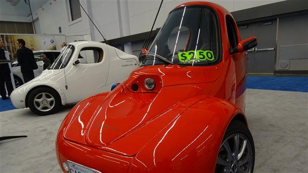 Un modèle de voiture électrique