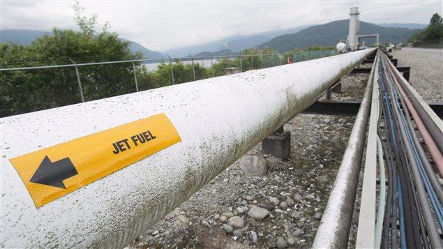 Un oléoduc en Colombie-Britannique
